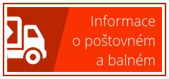 Informace o poštovném a balném