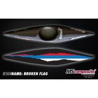 Broken Flag +1 350Kč